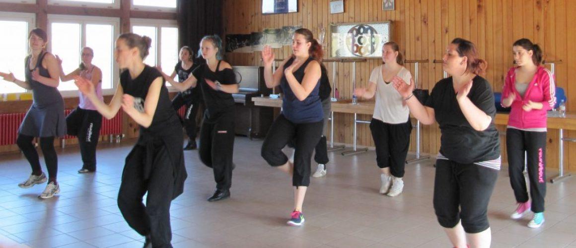 SBU-tjejer på ledarutbildning i Schweiz