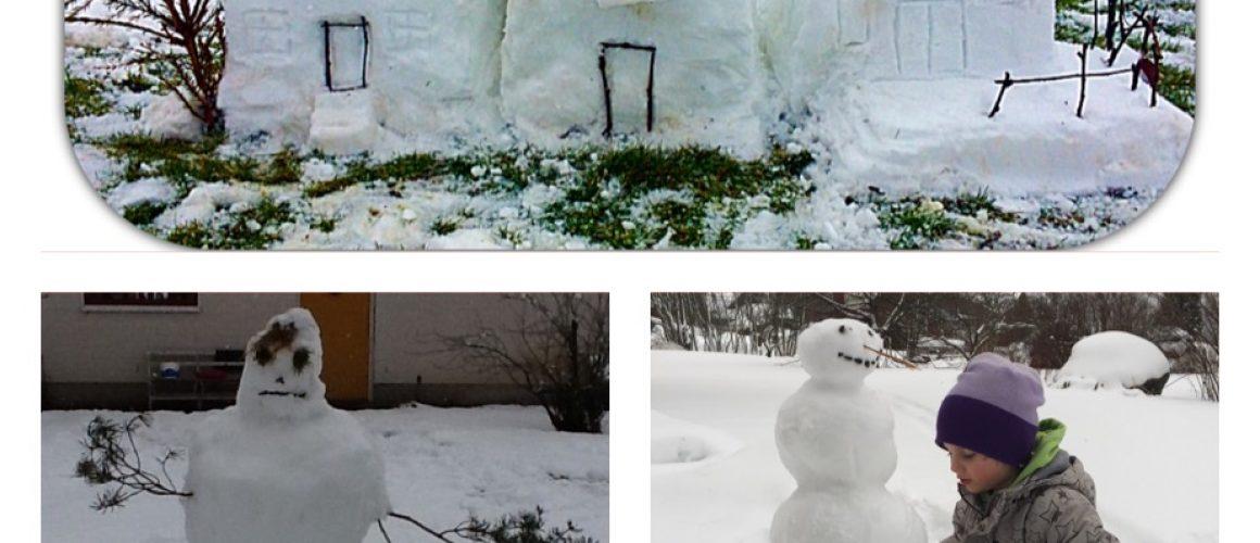 Grattis till vinnarna av snöskulpturtävlingen