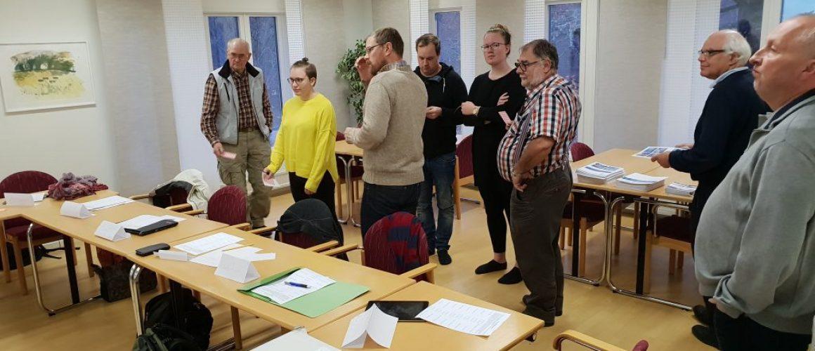 Sammanfattning av styrelsemötet 9-11 november