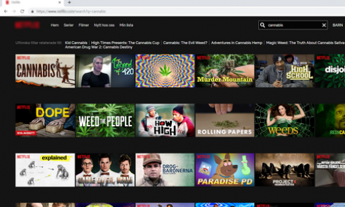 cannabis streamingsajt